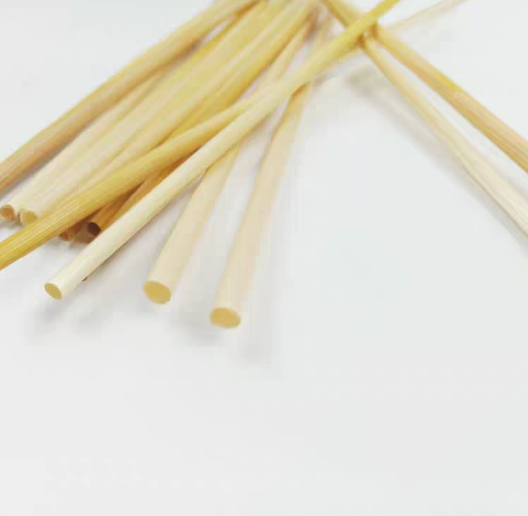Disposable bamboo straws 1