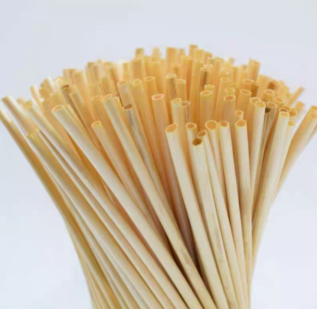 Disposable bamboo straws 5