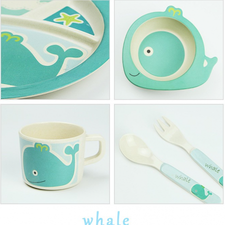 Whale tableware 2